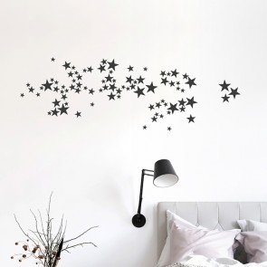 Wandtattoo Nachthimmel Sterne