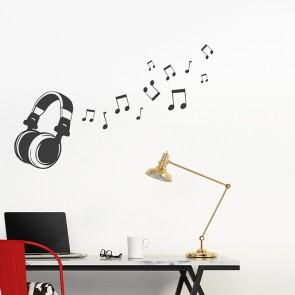 musik wandtattoos f rs kinderzimmer. Black Bedroom Furniture Sets. Home Design Ideas