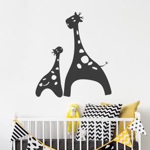 Giraffen Wandtattoo