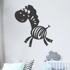Zebra Wandtattoo