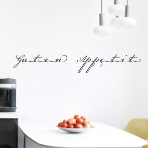 Wandtattoo Spruch - Guten Appetit