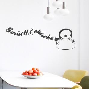 Wandtattoo Spruch - Gerüch(t)eküche