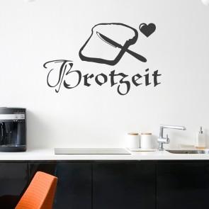Wandtattoo Spruch - Brotzeit