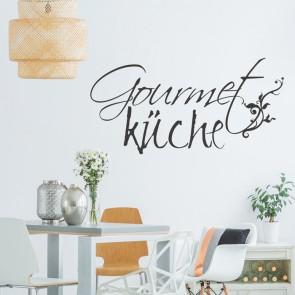 Wandtattoo Spruch - Gourmetküche