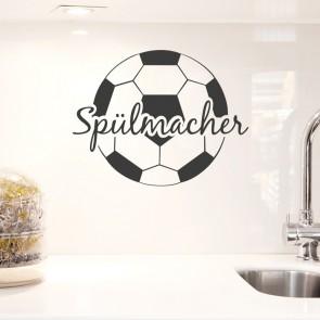 Wandtattoo Spruch - Spülmacher