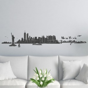 Wandtattoo Skyline New York