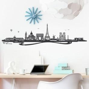 Wandtattoo Skyline Paris