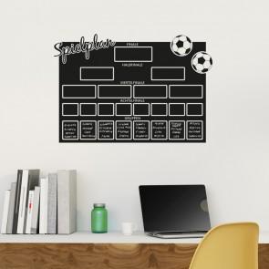 Tafelfolie - WM Spielplan