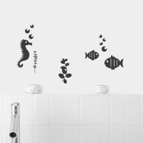 Wandtattoo A4-Set Unterwasserwelt
