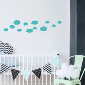 Wandtattoo A4-Set Wolken