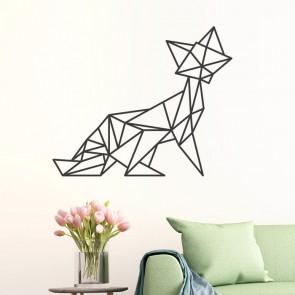 Wandtattoo Origami Fuchs