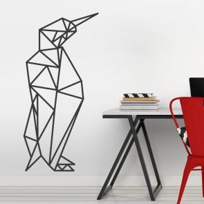 Wandtattoo Origami Pinguin