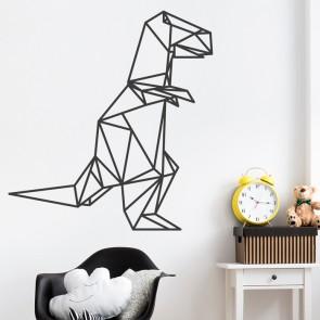 Wandtattoo Origami T-Rex