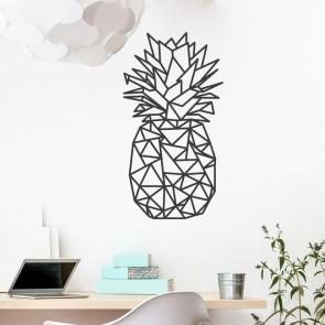 Wandtattoo Origami Ananas