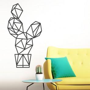 Wandtattoo Origami Kaktus