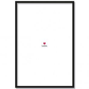 Poster Liebe Herz