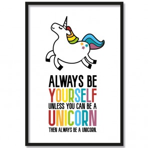 Poster Always be yourself