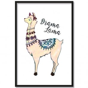 Poster Drama Lama