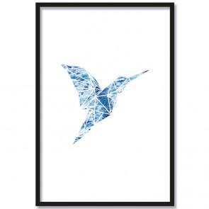 poster origami kolibri