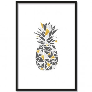 ananas origami poster