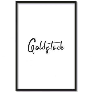 Poster Goldstück