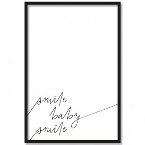 Poster Smile baby smile