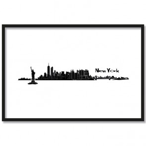 Poster Skyline New York
