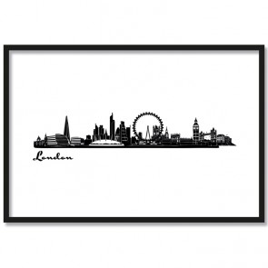 Poster Skyline London