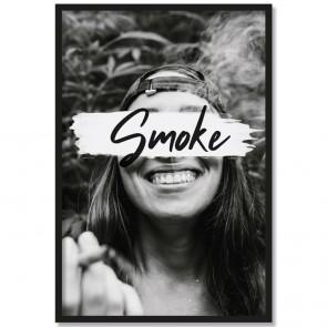 Poster Portät Weed