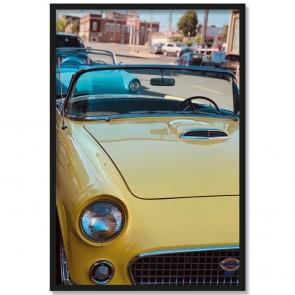 Poster Auto Oldtimer Rahmen