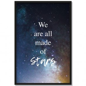 Poster We are all made of stars