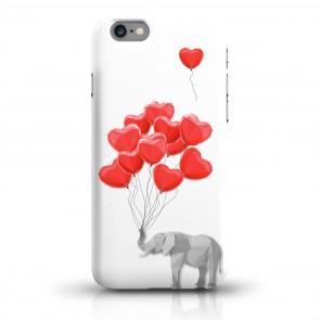 JUNIWORDS Handycase Elefant mit Herzen