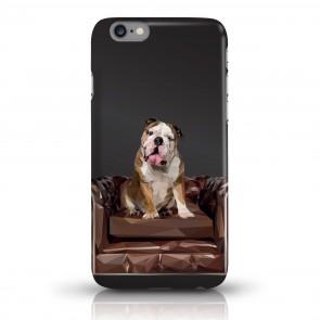 JUNIWORDS Handycase Bulldogge - Schwarz