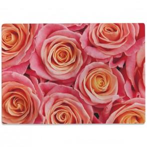 Glasschneidebrett Schöne Rosen