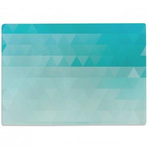 Glasschneidebrett Triangle Muster