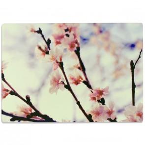 Glasschneidebrett Kirschblüten