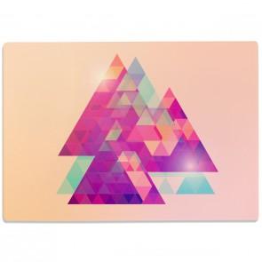 Glasschneidebrett Triangles