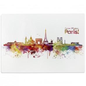 Glasschneidebrett Skyline Paris