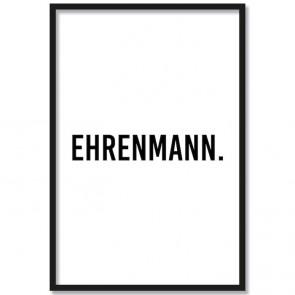 Poster Ehrenmann.