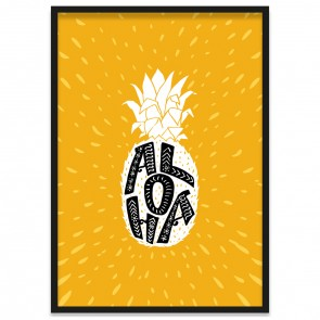 Poster Ananas Aloha