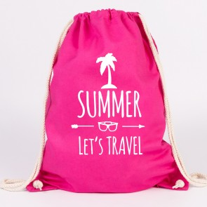 juniwords turnbeutel summer lets travel