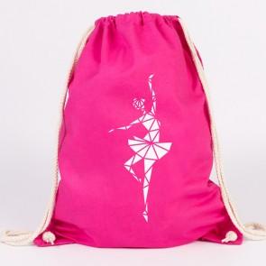 JUNIWORDS Turnbeutel Origami Ballerina