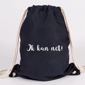 JUNIWORDS Turnbeutel Ik kan net!