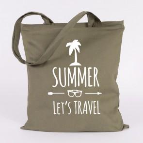 JUNIWORDS Jutebeutel Summer lets travel