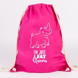 i'm just a fat unicorn turnbeutel