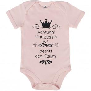 babybody achtung prinzessin name betritt den raum