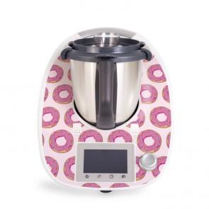 Aufkleber für Vorwerk Thermomix TM5 - Donuts Rosa