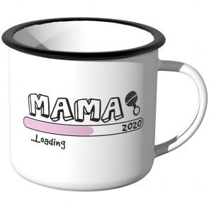 Emaille Tasse Mama loading - 2020