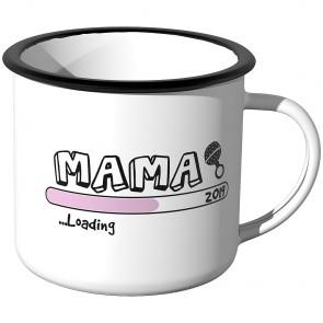 Emaille Tasse Mama loading - 2021