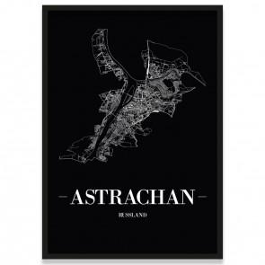 Astrachan Straßennetz